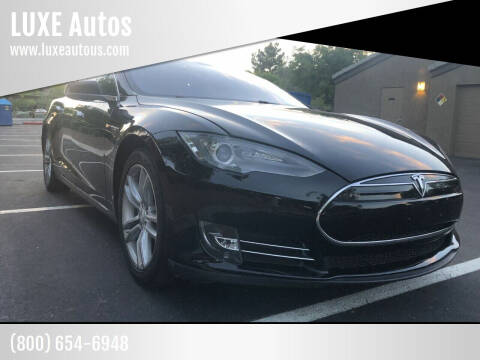 2012 Tesla Model S for sale at LUXE Autos in Las Vegas NV