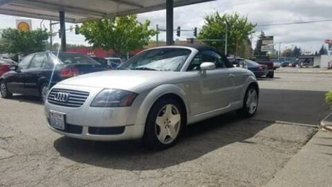2001 Audi TT for sale at Payless Car & Truck Sales in Mount Vernon WA