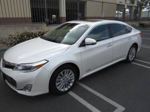 2014 Toyota Avalon Hybrid for sale at PREFERRED MOTOR CARS in Covina CA