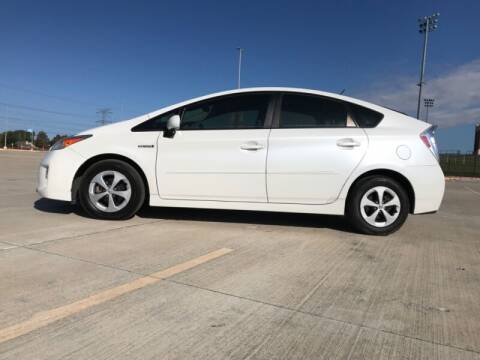2012 Toyota Prius for sale at ALL AMERICAN FINANCE AND AUTO in Houston TX