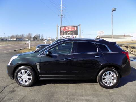 2011 Cadillac SRX for sale at MYLENBUSCH AUTO SOURCE in O` Fallon MO