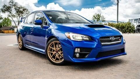 2015 Subaru WRX for sale at MUSCLE MOTORS AUTO SALES INC in Reno NV
