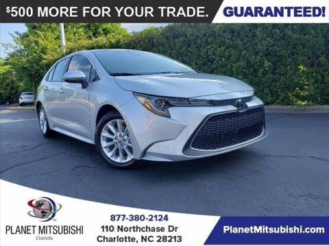 2021 Toyota Corolla for sale at Planet Automotive Group in Charlotte NC