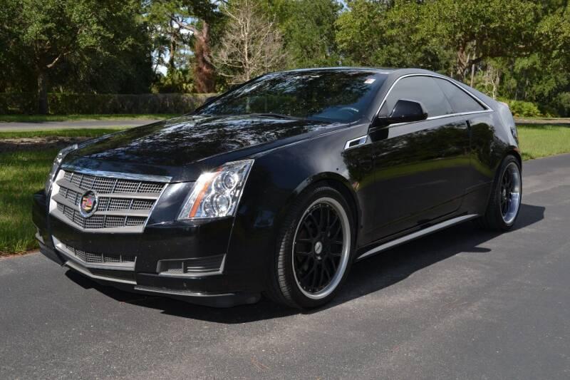 2011 Cadillac CTS for sale at GulfCoast Motorsports in Osprey FL