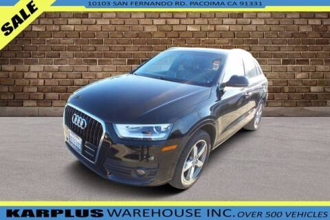 2015 Audi Q3 for sale at Karplus Warehouse in Pacoima CA