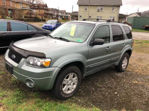 2006 Ford Escape for sale at STEEL TOWN PRE OWNED AUTO SALES in Weirton WV