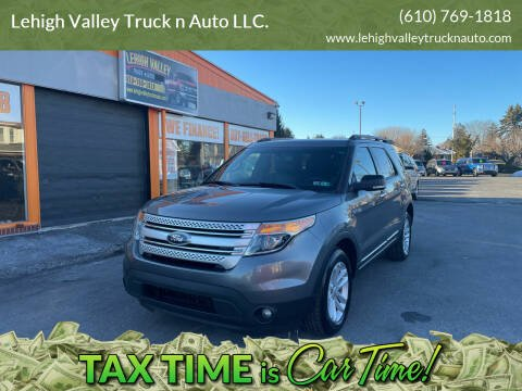 2014 Ford Explorer for sale at Lehigh Valley Truck n Auto LLC. in Schnecksville PA