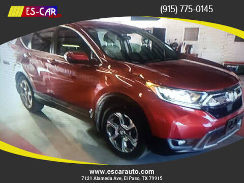 2017 Honda CR-V for sale at Escar Auto in El Paso TX
