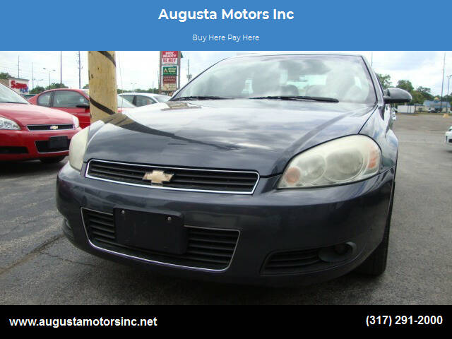 2011 Chevrolet Impala for sale at Augusta Motors Inc in Indianapolis IN