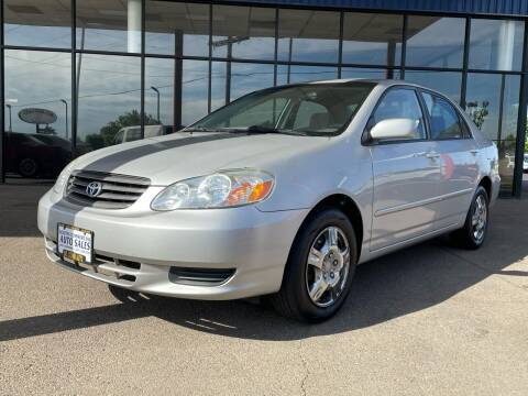 2004 Toyota Corolla for sale at South Commercial Auto Sales in Salem OR