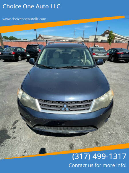 2007 Mitsubishi Outlander for sale at Choice One Auto LLC in Beech Grove IN