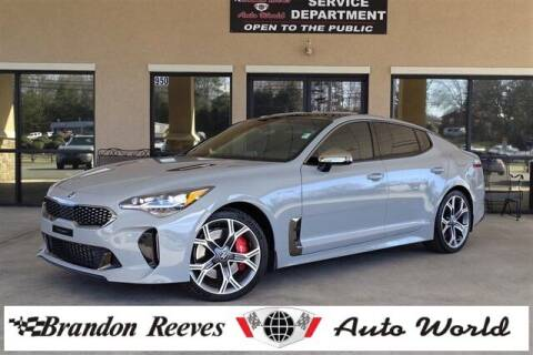 2019 Kia Stinger for sale at Brandon Reeves Auto World in Monroe NC
