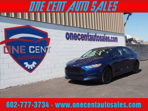 2016 Ford Fusion for sale at One Cent Auto Sales in Glendale AZ