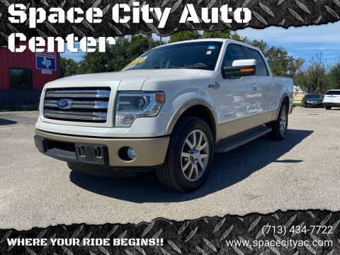 2014 Ford F-150 for sale at Space City Auto Center in Houston TX