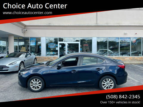 2016 Mazda MAZDA3 for sale at Choice Auto Center in Shrewsbury MA
