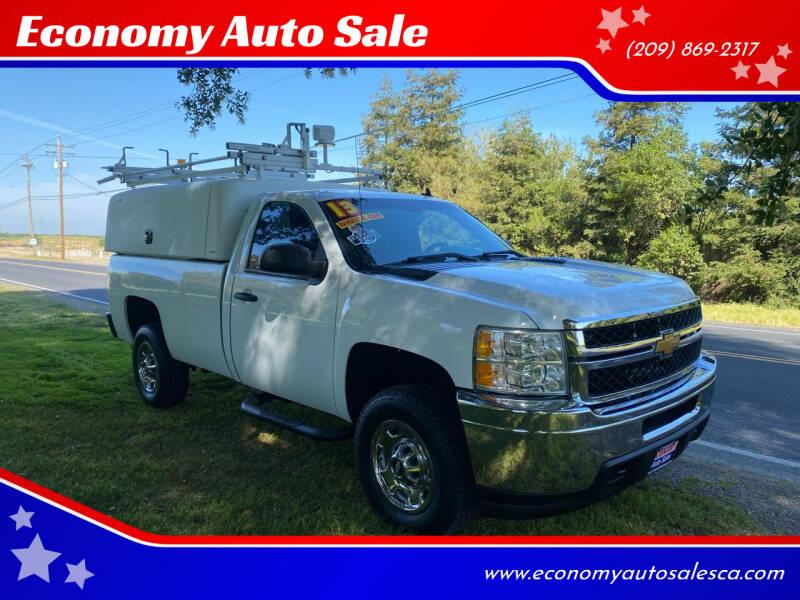 2013 Chevrolet Silverado 2500HD for sale at Economy Auto Sale in Modesto CA
