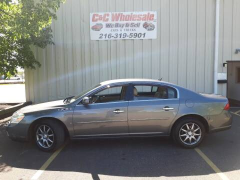 2007 Buick Lucerne for sale at C & C Wholesale in Cleveland OH