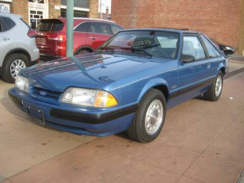 1989 Ford Mustang for sale at Theis Motor Company in Reading OH