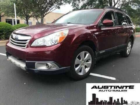 2011 Subaru Outback for sale at Austinite Auto Sales in Austin TX