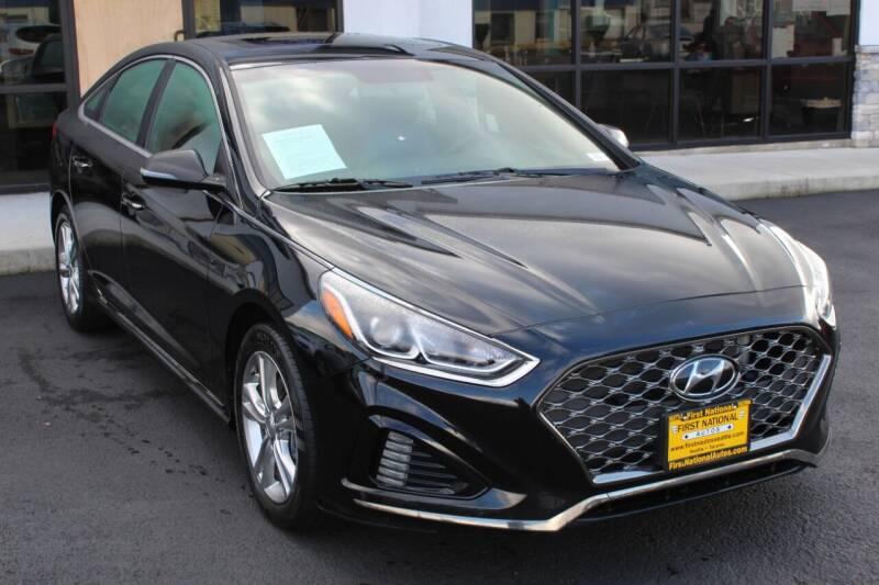 2018 Hyundai Sonata for sale at First National Autos in Lakewood WA