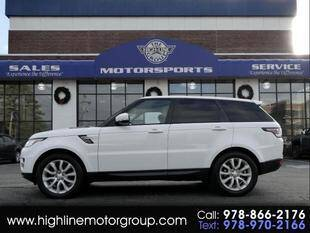 2015 Land Rover Range Rover Sport for sale at Highline Group Motorsports in Lowell MA