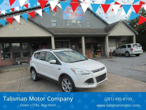 2014 Ford Escape for sale at Don Jacobson Automobiles in Houston TX