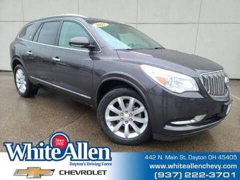 2017 Buick Enclave for sale at WHITE-ALLEN CHEVROLET in Dayton OH