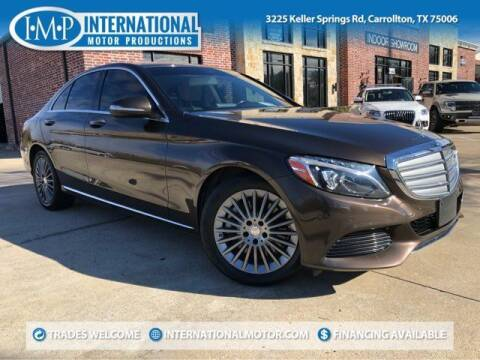 2015 Mercedes-Benz C-Class for sale at International Motor Productions in Carrollton TX