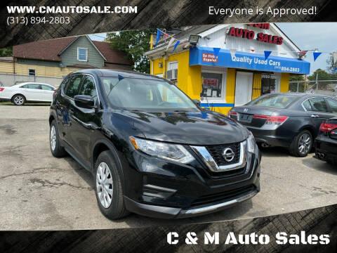 2020 Nissan Rogue for sale at C & M Auto Sales in Detroit MI