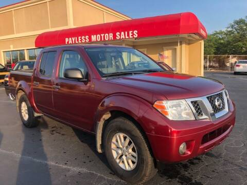 2016 Nissan Frontier for sale at Payless Motor Sales LLC in Burlington NC