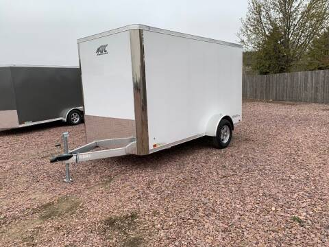 2021 ATC Raven 6x12 Flat Nose #2644 for sale at Prairie Wind Trailers, LLC in Harrisburg SD