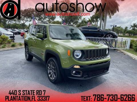 2016 Jeep Renegade for sale at AUTOSHOW SALES & SERVICE in Plantation FL