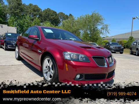 2009 Pontiac G8 for sale at Smithfield Auto Center LLC in Smithfield NC