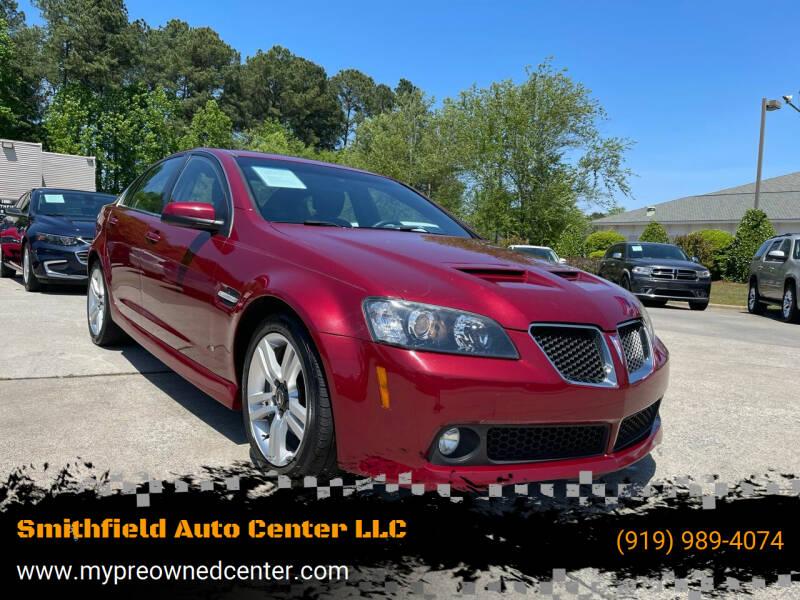 2009 Pontiac G8 for sale at Smithfield Auto Center LLC in Smithfield NC