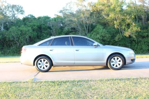 2006 Audi A6 for sale at Clear Lake Auto World in League City TX
