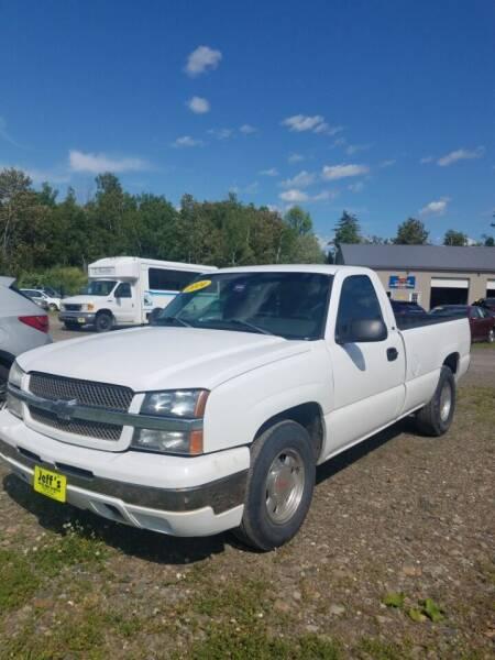 2004 Chevrolet Silverado 1500 for sale at Jeff's Sales & Service in Presque Isle ME