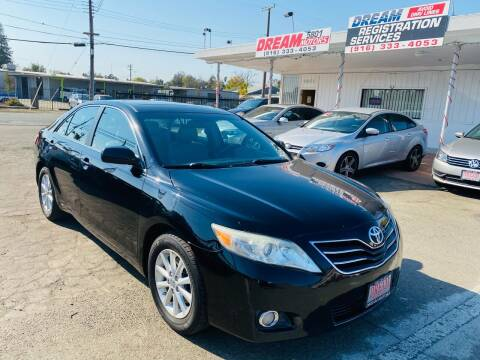 2011 Toyota Camry for sale at Dream Motors in Sacramento CA