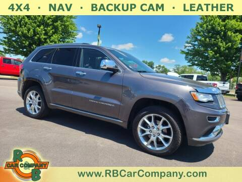 2015 Jeep Grand Cherokee for sale at R & B Car Company in South Bend IN