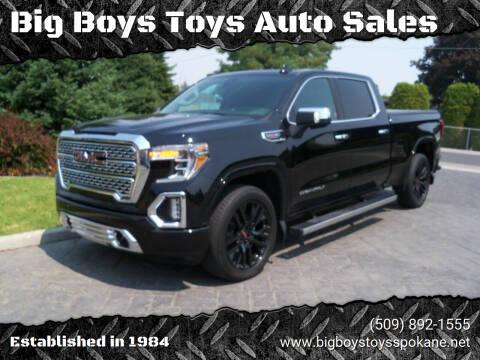 2019 GMC Sierra 1500 for sale at Big Boys Toys Auto Sales in Spokane Valley WA