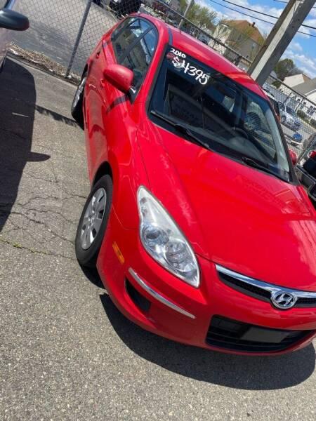 2010 Hyundai Elantra Touring for sale at Bob Luongo's Auto Sales in Fall River MA