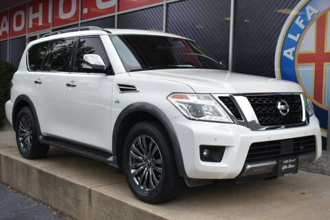2018 Nissan Armada for sale at Alfa Romeo & Fiat of Strongsville in Strongsville OH