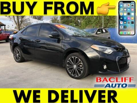 2014 Toyota Corolla for sale at Bacliff Auto in Bacliff TX