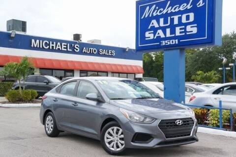 2018 Hyundai Accent for sale at Michael's Auto Sales Corp in Hollywood FL
