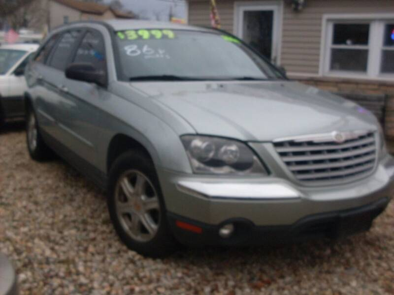 2004 Chrysler Pacifica for sale at Flag Motors in Islip Terrace NY