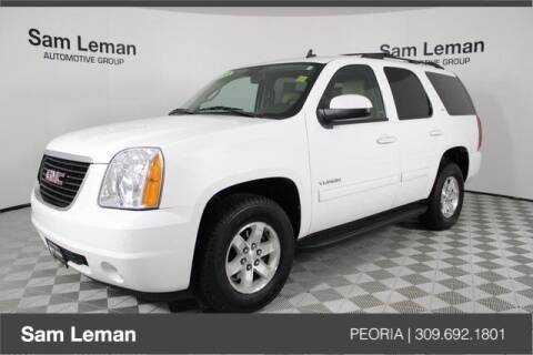 2013 GMC Yukon for sale at Sam Leman Chrysler Jeep Dodge of Peoria in Peoria IL