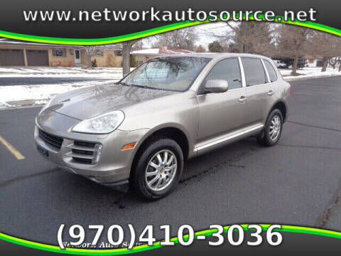 2008 Porsche Cayenne for sale at Network Auto Source in Loveland CO