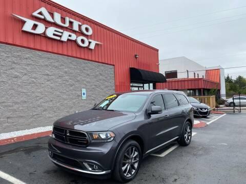 2017 Dodge Durango for sale at Auto Depot - Nashville in Nashville TN