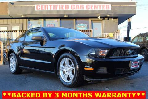 2011 Ford Mustang for sale at CERTIFIED CAR CENTER in Fairfax VA