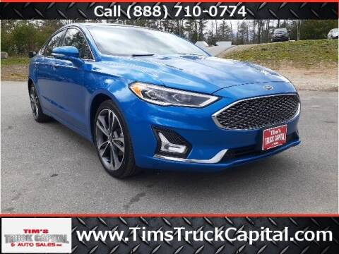 2019 Ford Fusion for sale at TTC AUTO OUTLET/TIM'S TRUCK CAPITAL & AUTO SALES INC ANNEX in Epsom NH
