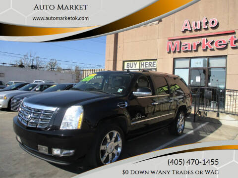 2010 Cadillac Escalade ESV for sale at Auto Market in Oklahoma City OK